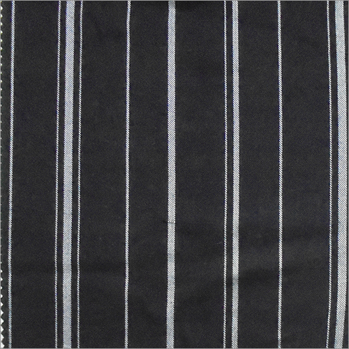 White Dyed  Strip Fabric