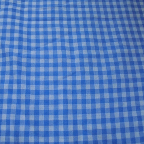 Small Block Check Dyed Fabric