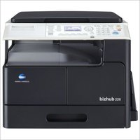 Konica Minolta Bizhub 226 Photocopier machine with Document feeder + Network card + control panel + paper feeder