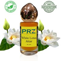 PRZ White Lotus Attar Roll on For Unisex
