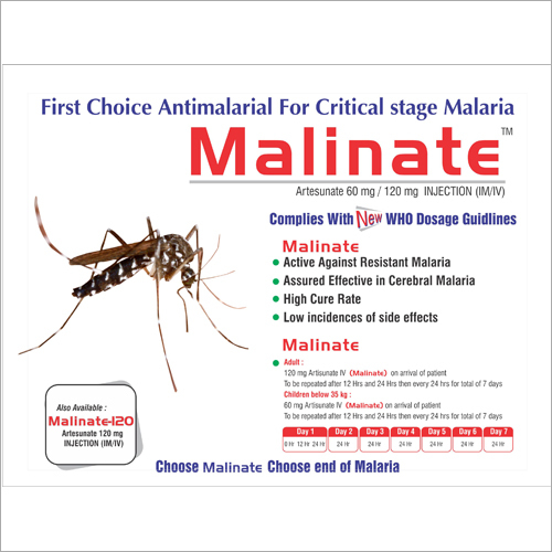 Malinate 120mg Injection