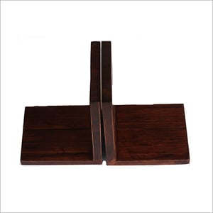 Bamboo Bookends Rosewood