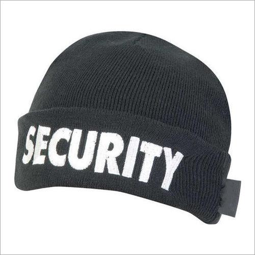 Black Security Cap