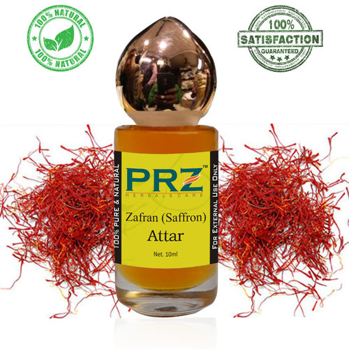 PRZ Zafran (Saffron) Attar Roll on For Unisex