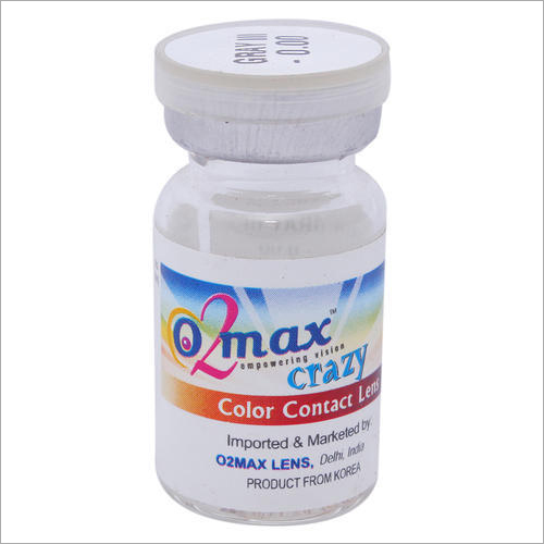 Crazy Color Contact Lens Gray- 3 Tone