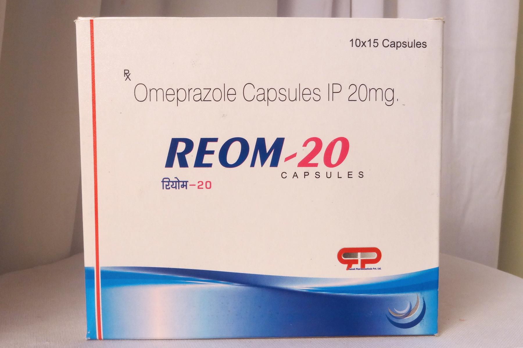 Omeprazole-20mg & Domperidone-10mg Capsule