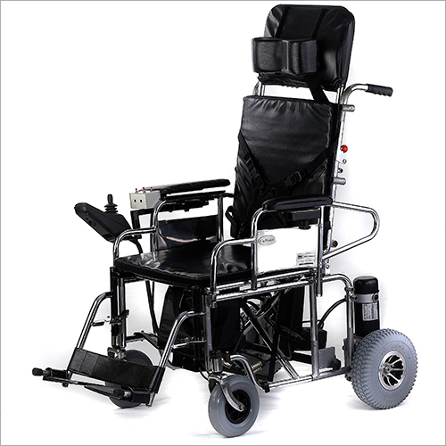 Standard Powered Wheelchair with Manual Reclining Backrest