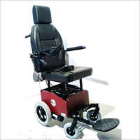 Deluxe - Rear wheeldrive Powered Wheelchair with Seat Powered updown Mechanism