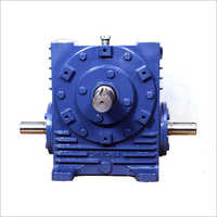 Single Worm Reduction Gear Box