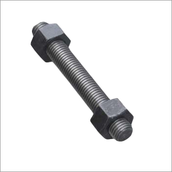 Plain Finish Cadmium Plated Stud Bolt