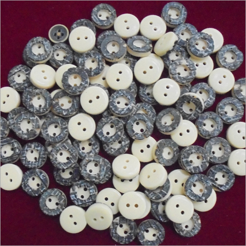 Polyester Bone Buttons