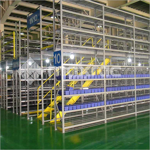 Racking Supported Mezzanine Floor