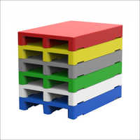 Multi Colors 2-Way Plastic Pallets