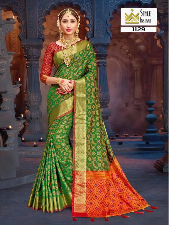 Ethnic Banarasi Silk Sarees