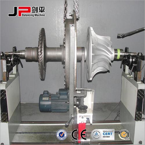 Stainless Steel Roller Belt Drive Balancing Machine