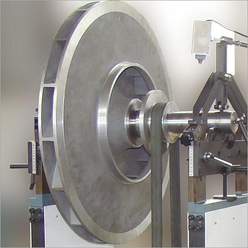 Centrifugal, Multistage Pump Impeller, Blower Fan Wheel, Motor Rotor Belt Drive Balancing Machine