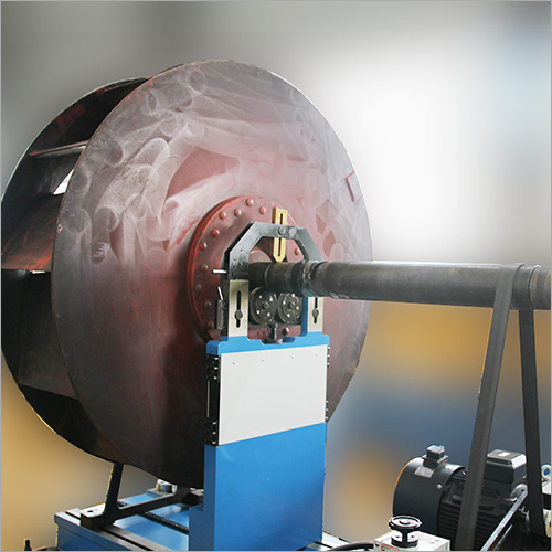 Large-Sized Industrial Fan Impeller, Generator Motor Rotor, Large Rotor Belt Drive Balancing Machine