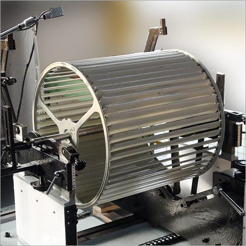 Blower Wheel, Centrifugal Fan Impeller, Plastic Fan Wheel Belt Drive Balancing Machine