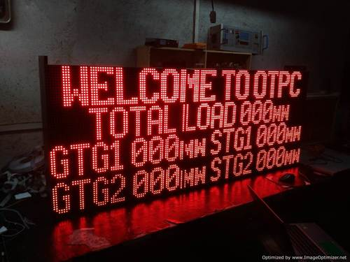 LED Scrolling Message Display
