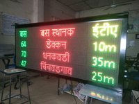 Bus Route LED Display Board