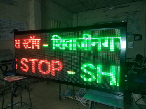 Bus Stop LED Display Board