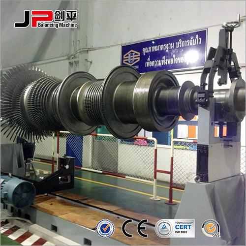 Paper Mill Roller, Generator Rotor, Alternator Rotor Universal Joint Drive Balnacing Machine