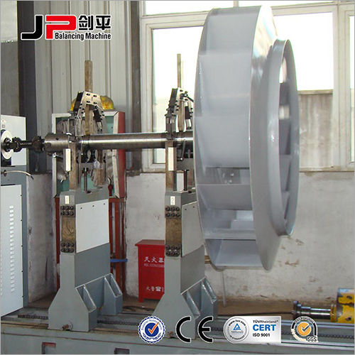 Large Motor Rotor, Large Fan, Multistage Pump Impeller Universal Joint Drive Balnacing Machine