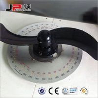 Plastic Fan Impeller, Axial Fan Impeller Vertical Balancing Machine
