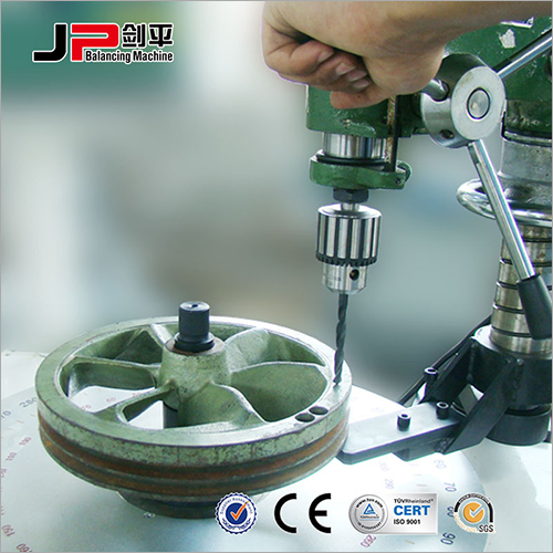 Plastic Fan Impeller, Axial Fan Impeller Vertical Balancing Machine