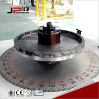 Single Plane Vertical Pneumatic Spindle Balancing Machine For Brake Disc, Clutch Pressure Plate, Pulley