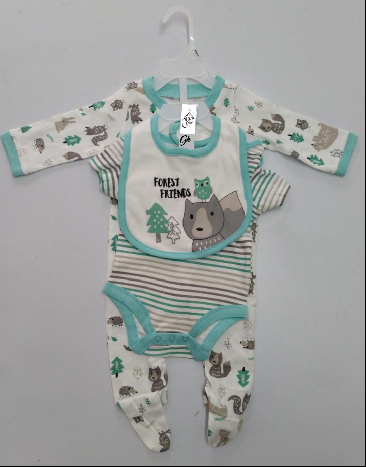 baby Romper 3 piece set