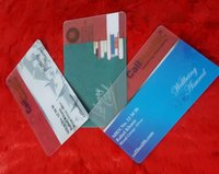 PVC Transparent Cards
