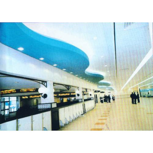 Vinyl Laminated Gypsum Ceiling Tiles