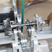 Car Or Truck Turbocharger Rotor, Diesel Turbo Rotor Balancing Machine