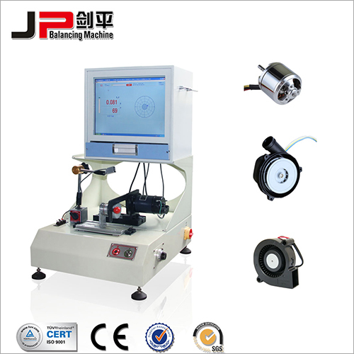 Micro Motor Armature, External Rotor Motor Fan Soft Bearing Balancing Machine