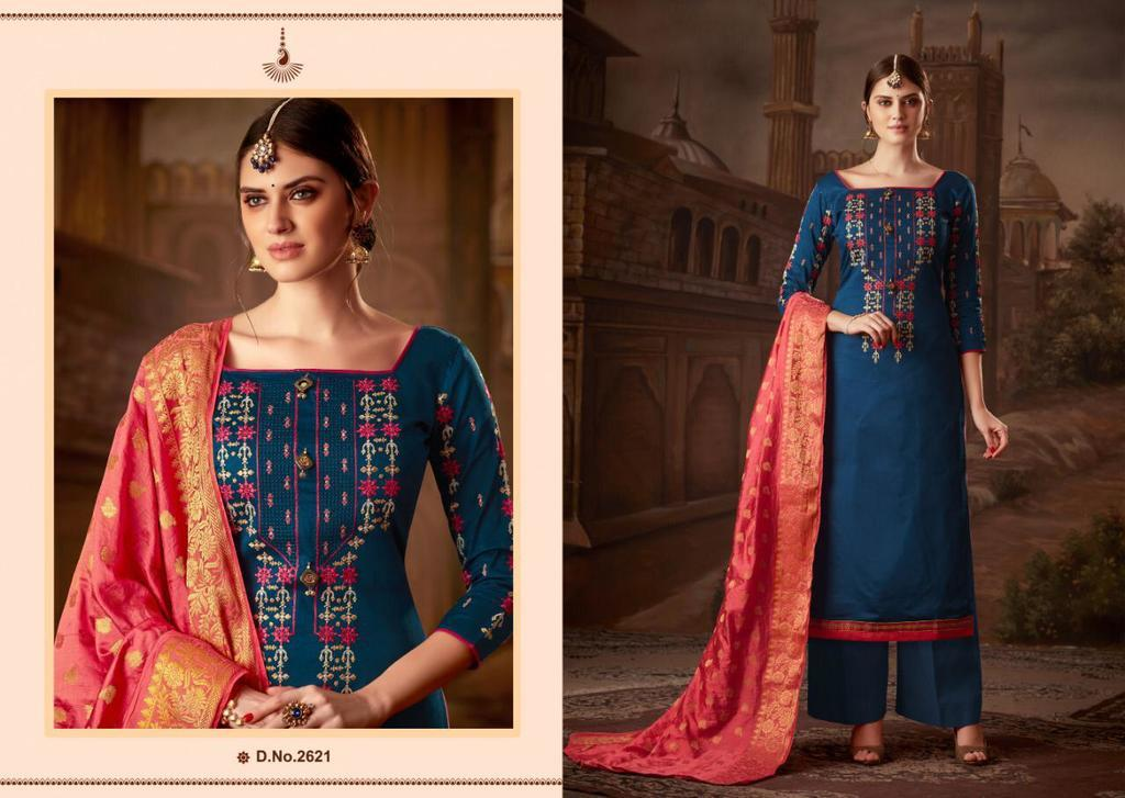 Latest Heavy Embroidery Work Suits