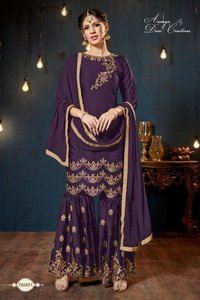 Georgette Designer Sharara Suits