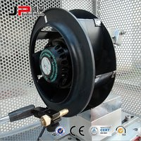 External Rotor Motor Driven Fan Self Drive Balancing Machine