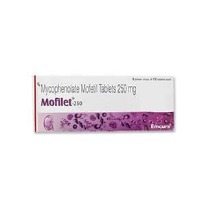 MOFILET Mycophenolate Mofetil 250MG