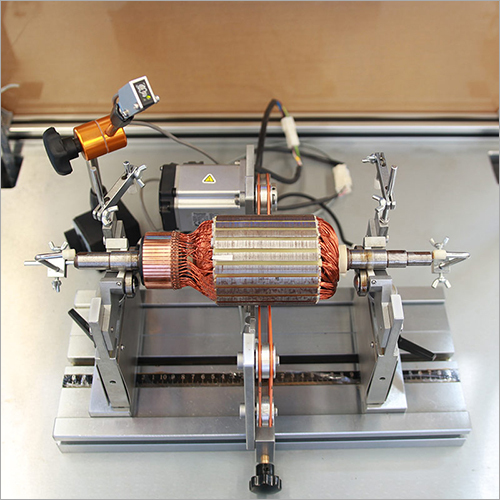Squirrel-Cage Rotor, Wound Rotor, Motor Armature Auto-Positioning Balancing Machine