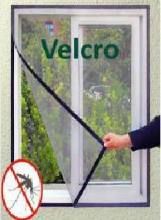 Hinged Screen Door