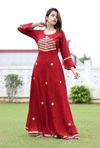 Gota Patti Long Dress