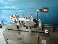 AUTOMATIC ROTARY STICKER LABELLING MACHINE