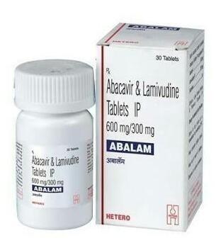 ABALAM Abacavir 600mg and Lamivudine 300mg