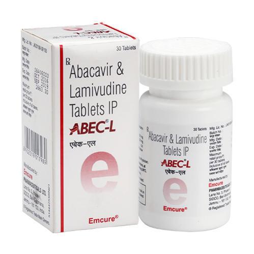 ABEC-L Abacavir 600mg and Lamivudine 300mg