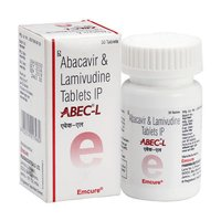ABEC-L Abacavir 600mg and Lamivudine 300mg