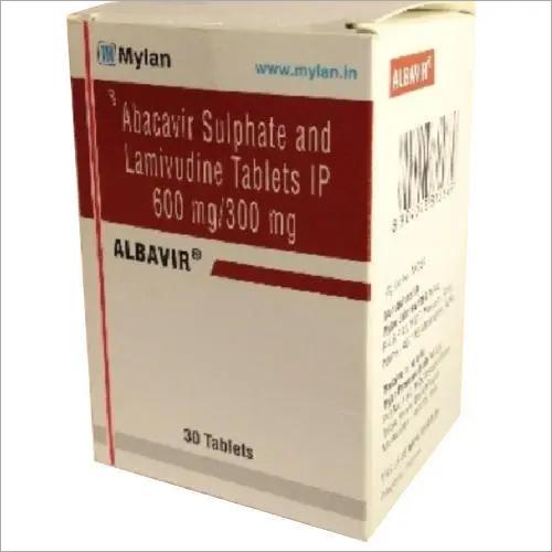 ALBAVIR Abacavir 600mg and Lamivudine 300mg
