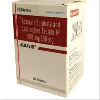 ALBAVIR Abacavir 600mg and Lamivudine 300mg