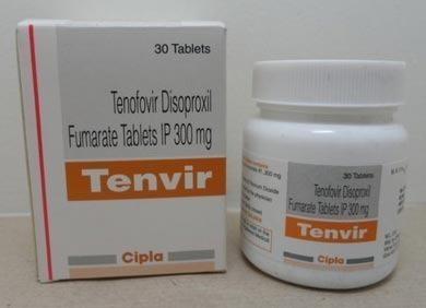 TENVIR Tenofovir Disoproxil Fumarate 300MG