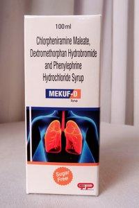 Chlorpheniramine Maleate,Dextromethorphan Hydrobromide & Phenylephrine Hydrochloride Syrup (100ml)